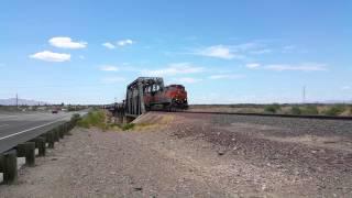 Youngtown (AZ) United States  city photos : BNSF 1071 M-BELPHX at El Mirage/Youngtown, AZ. July5, 2015