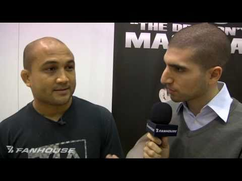 BJ Penn Surrounds Himself With New Faces Heading Into UFC 123