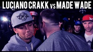 Ground Zero Battles | Luciano Crakk vs. Made Wade