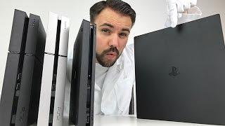 PS4 PRO - Alle Unterschiede zur Slim & normalen PS4 - Unboxing und Vergleich  - Dr. UnboxKing