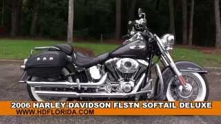 7. Used 2006 Harley Davidson Softail Deluxe Motorcycles for sale