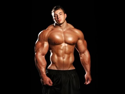 Muscle men on steroids