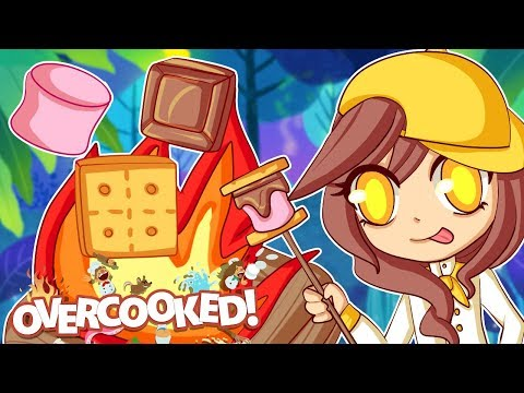 Our Epic CAMPFIRE COOK OFF In Overcooked 2!