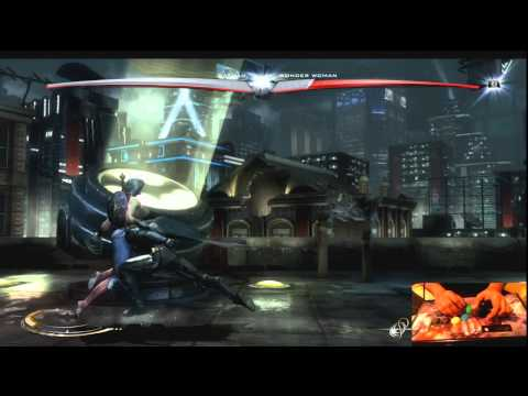 Injustice: Gods Among Us DEMO - Basic System Tutorial
