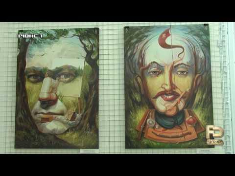 Картини-ілюзії: роботи тернопільського Сальвадора Далі обманюють зір [ВІДЕО]