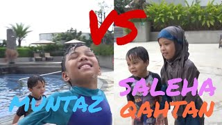 Video SIAPAKAH PEMENANGNYA?? - Swimming Challenge Muntaz VS Saleha & Qahtan Halilintar MP3, 3GP, MP4, WEBM, AVI, FLV Maret 2019