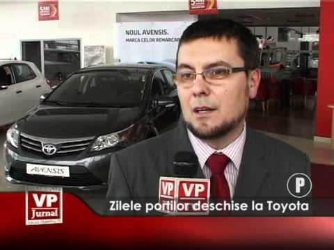 Zilele porților deschise la Toyota