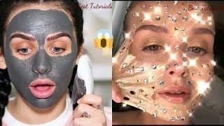 Video Best Face Mask Compilation 2018\ Skincare Routine  summer 2018 MP3, 3GP, MP4, WEBM, AVI, FLV April 2019