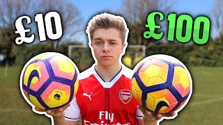 Video £10 Football Vs. £100 PREMIER LEAGUE Football MP3, 3GP, MP4, WEBM, AVI, FLV Oktober 2017