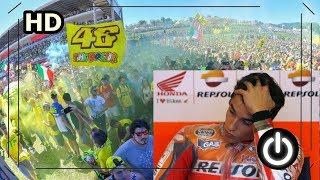 Video Detik detik Marquez di ejek Fans Rossi di Podium Misano 2017 MP3, 3GP, MP4, WEBM, AVI, FLV September 2017