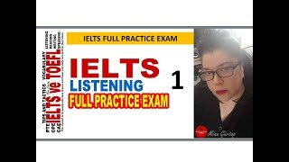 IELTS LISTENING   FULL PRACTICE EXAM WITH KEY