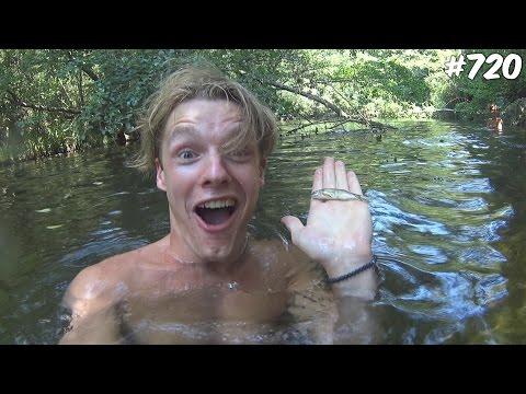 GEVAARLIJKE RIVIERTOCHT! - ENZOKNOL VLOG #720 (видео)
