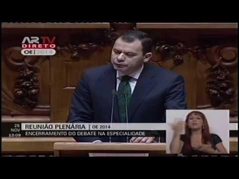 Luís Montenegro no encerramento do debate do OE 2014