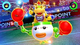 Mario Tennis Aces - Tournament As Bowser Jr.