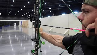 SHOOTING A BOW IN SUPER SLO MOTION