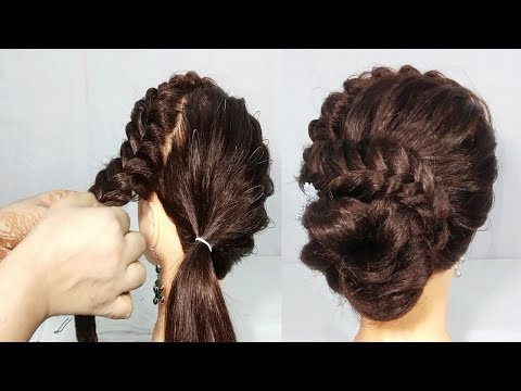 New hairstyle - Simple Juda Hairstyle  Latest hairstyles for Long Hair  hair style girl  hairstyles for girls