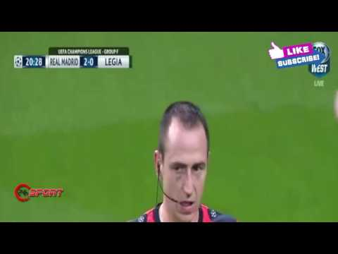 Real Madrid vs Legia Warszawa 5   1 All Goals & Highlights Champions League 18 10 2016