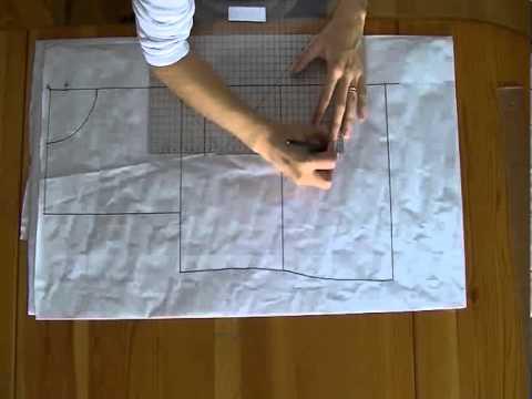 Tutorial: Come fare il cartamodello base del corpetto o body