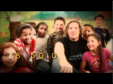 DAVID BISBAL - UNICEF (Comandato Ecuador)