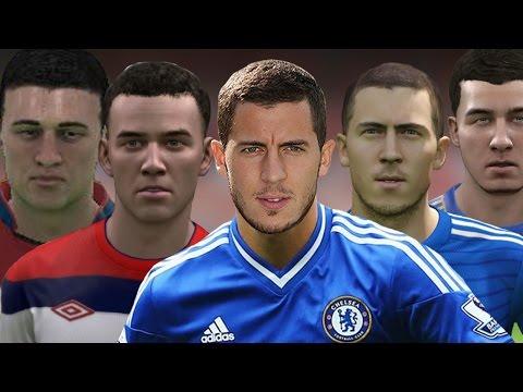 Eden Hazard From FIFA 09 to 15
