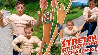 Video CHALLENGE STRETCH ARMSTRONG - Mini Stretch Scooby-Doo & Mini Stretch Armtrong MP3, 3GP, MP4, WEBM, AVI, FLV Juli 2017