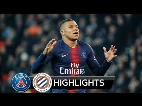 PSG vs Montpellier 5-1 All Goals & Extended Highlights - 2019