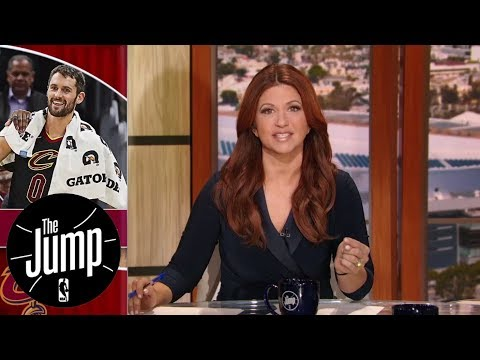 Kevin Love playing center key to Cavaliers' success | The Jump | ESPN