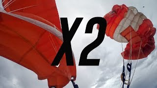 Friday Freakout: Skydiver's Total Malfunction (Pilot Chute In Tow), Followed By Two-Out Scenario