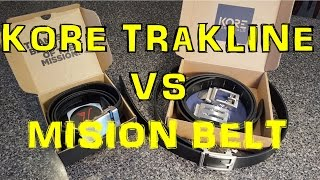 A comparison video of 2 of the better ratchet belts available today.  Similar, yet when comparing construction materials and workmanship, one clearly comes out on top.