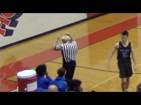 Referee Loses Toupee In Middle Of High School Basketball Game
