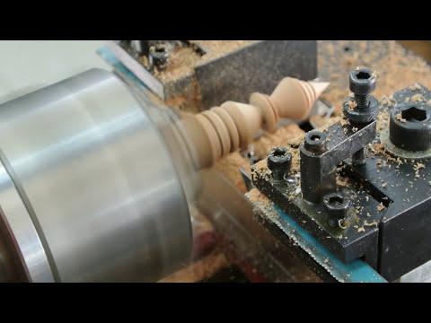 เครื่องกลึง CNC ขนาดเล็ก กลึงไม้