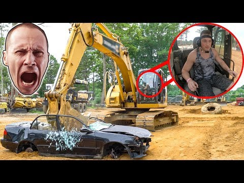 I SMASHED HIS CAR!!