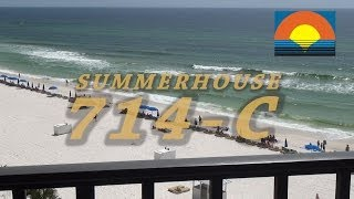 Unit 714-C Summerhouse Panama City Beach Vacation Condo