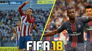 FIFA 18 Gameplay New Celebrations Ft. Ronaldo, Griezmann, Dybala (Xbox One, PS4, PC ) HD 1080p
