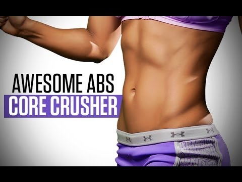 AWESOME ABS At Home Workout for Women — NO EQUIPMENT Needed!