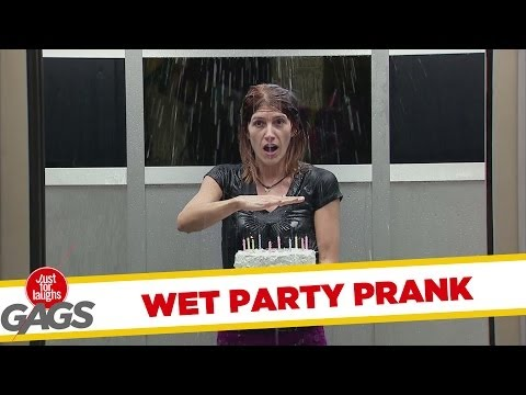 Wet Party Prank