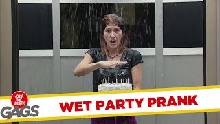 Wet Party Prank