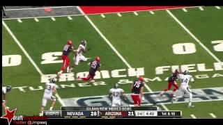 Ka'Deem Carey vs Nevada (2012 Bowl)
