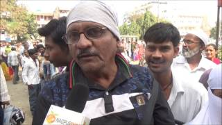 Nagpurians Suffering problems due to closer of 500 & 1000 Notes