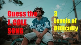 Guess the J. Cole Song!!