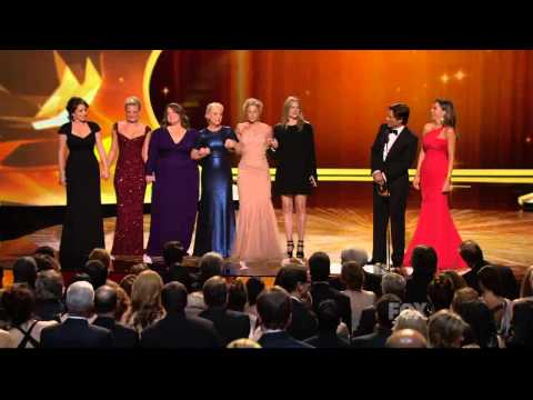 Melissa McCarthy wins an Emmy Award for Mike and Molly 2011