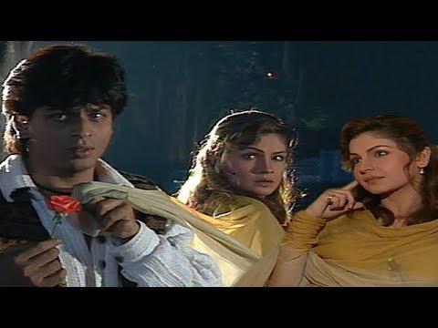 Chaahat On Location | Shah Rukh Khan | Pooja Bhatt | Flashback Video