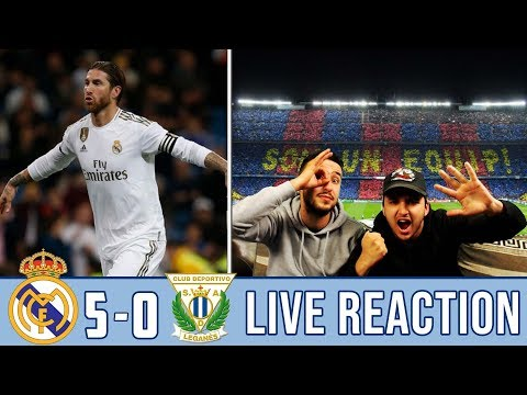 OUR BEST PERFORMANCE OF THE SEASON!! MADRID TRASH LEGANES 5-0 | REACTION - REACCIONES