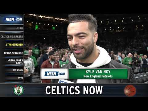 Video: Celtics Now: Celebs Show Up As Lakers, Celtics Renew Rivalry