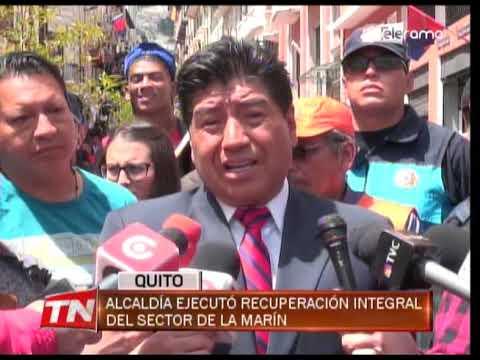 Alcaldía ejecutó recuperación integral del sector de La Marín