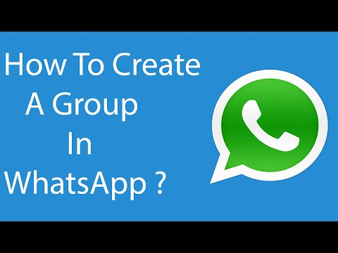 How To Create or Make a WhatsApp Group-2016 ?
