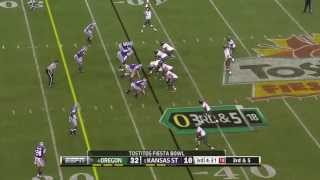 Marcus Mariota vs Kansas State (2012 Bowl)