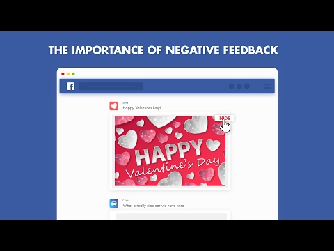 The Importance of Negative Feedback on Facebook