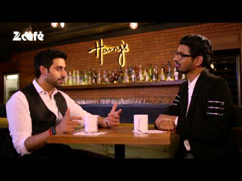 Abhishek Bachchan - Watch Look Who's talking with Niranjan every Sunday at 9 PM Follow us on - Facebook: http://bit.ly/ZCFBLD Twitter: http://bit.ly/ZeeCafeTwitter YouTube: http...