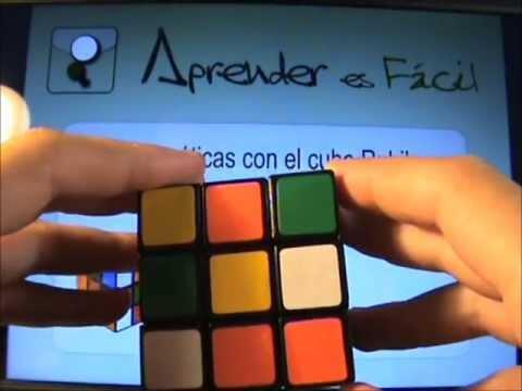 Aprender Matemáticas con el cubo Rubik – 7. Algoritmo de Resolución